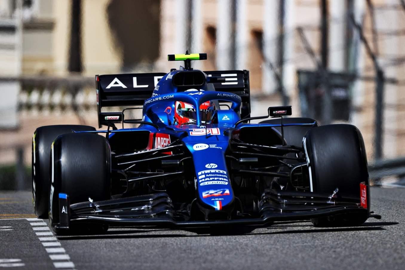 Alpine F1 Qualifications A521 Monaco Alonso Ocon 2021 17 scaled | Alpine F1 n'atteint pas la Q3 à Monaco