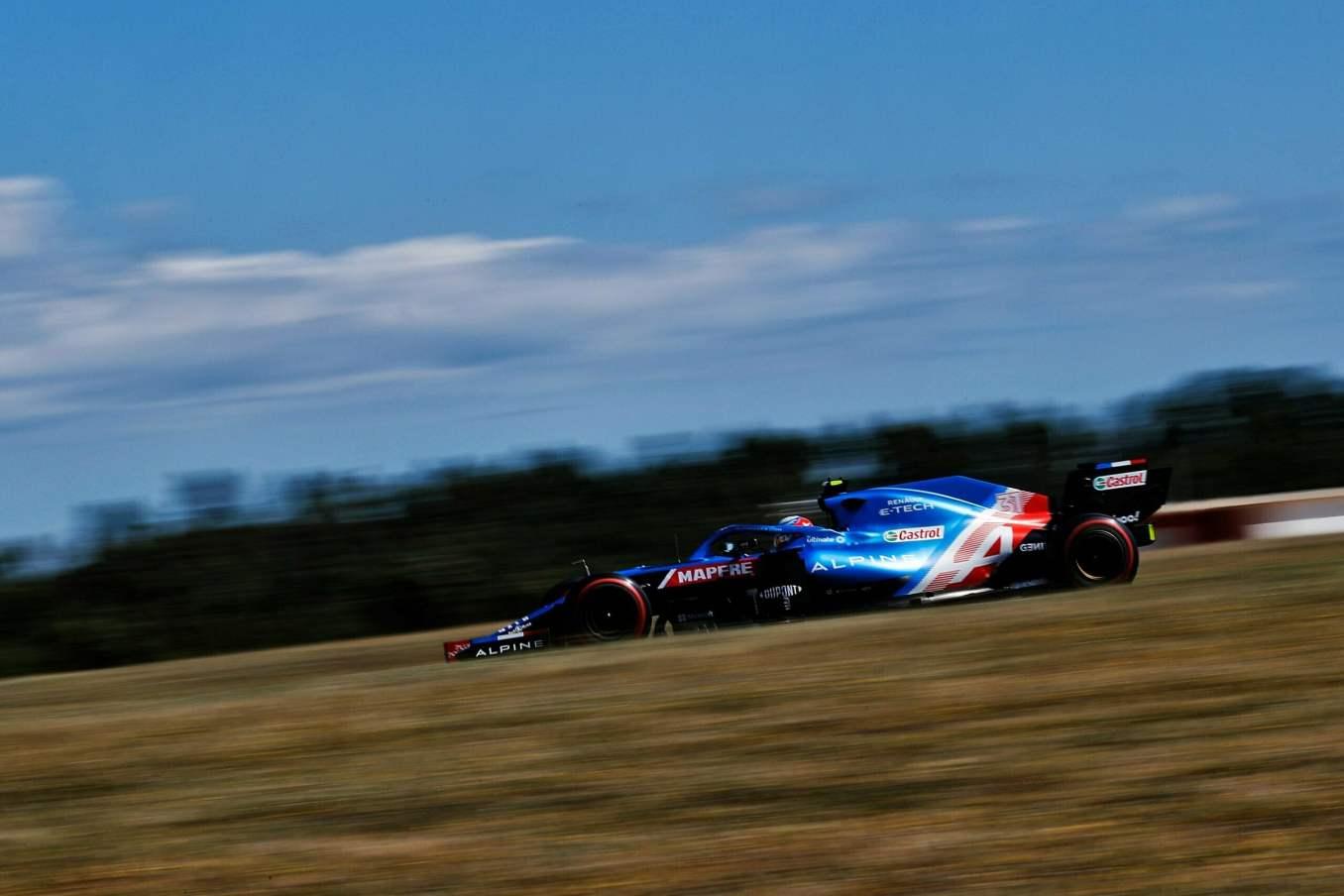 Alpine F1 Team GRAND PRIX HEINEKEN DU PORTUGAL Alonso Ocon 2021 A521 1 scaled   Alpine F1 Team : des essais convaincants au Grand Prix Heineken du Portugal