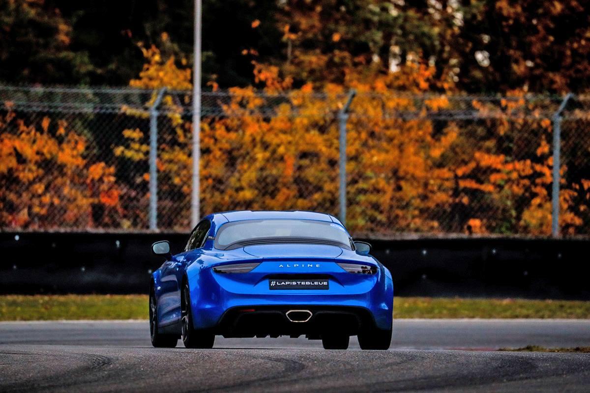 La Piste Bleue 2021 / Alpine A110
