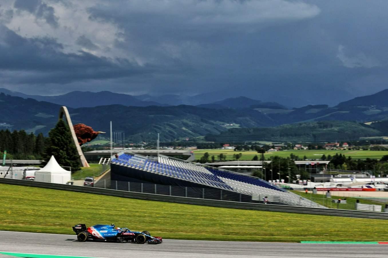Alpine F1 Team Alonso Ocon Autriche Steiermark Grand Prix Spielberg A521 2021