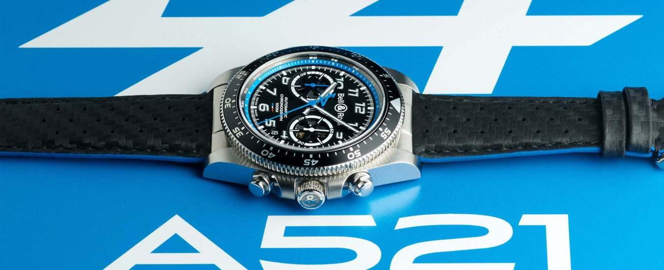 BRV394 A521 leather slider 2560x1040 1 | Bell & Ross devient le nouveau partenaire horloger officiel d'Alpine 2021