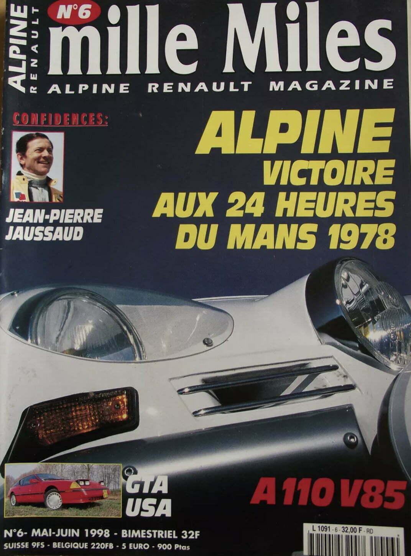 792F57BC 9017 48C9 9EAD 9720A5ACD8B7 | Jean Pierre Jaussaud Vainqueur Des 24 Heures du Mans avec Alpine nous a quitté.