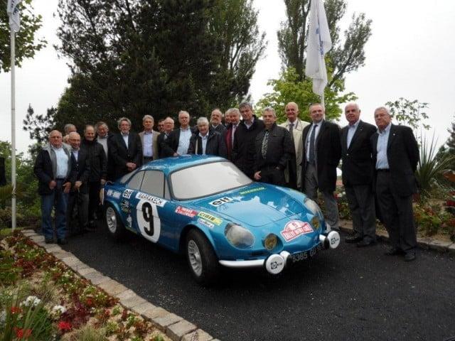 Alpine A110 inauguration 2014 Dieppe 2
