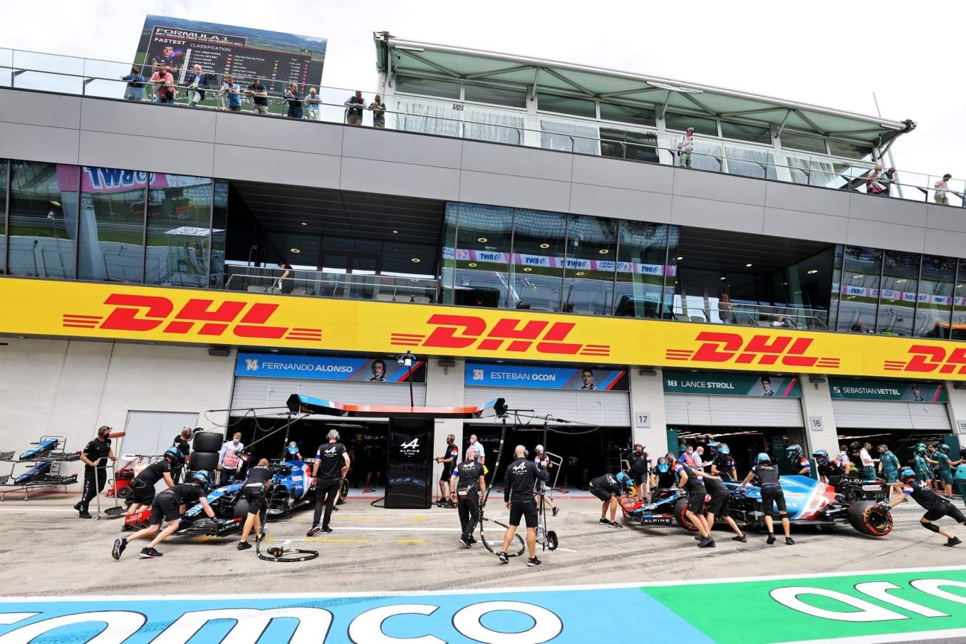 Alpine F1 Alonso Ocon A521 GP Autriche Spielberg 2021 21 scaled | Alpine F1 : Alonso rapporte un point au Grand-Prix d'Autriche