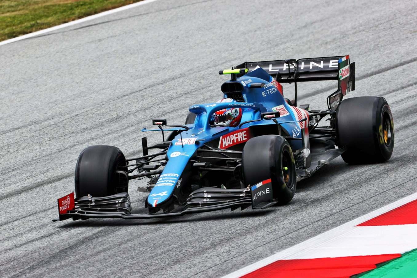 Alpine F1 Alonso Ocon A521 GP Autriche Spielberg 2021 28 scaled | Alpine F1 assure une séance d'essais studieuse au Grand-Prix d'Autriche