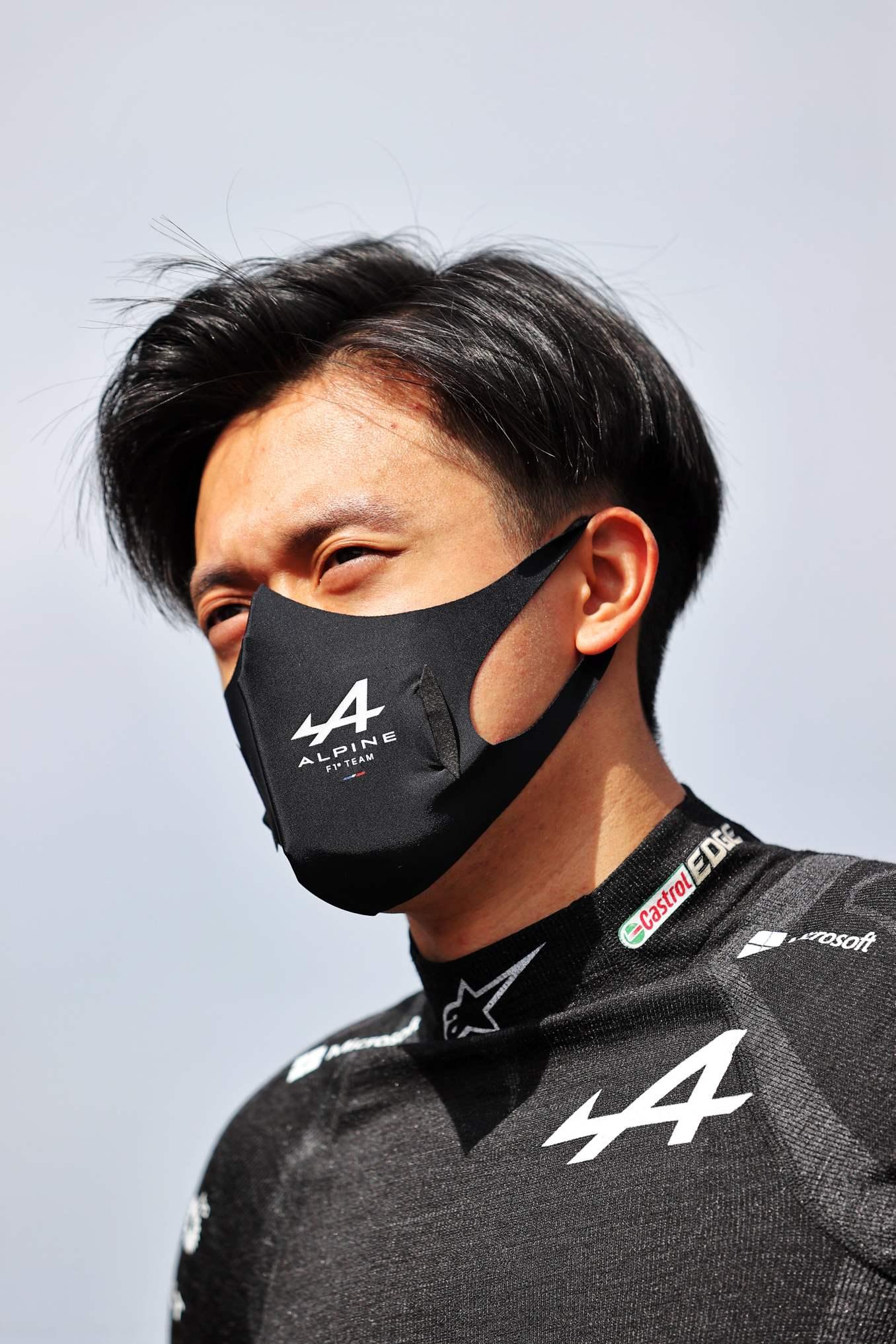 Guanyu Zhou Alpine F1 Alonso Ocon A521 GP Autriche Spielberg 2021