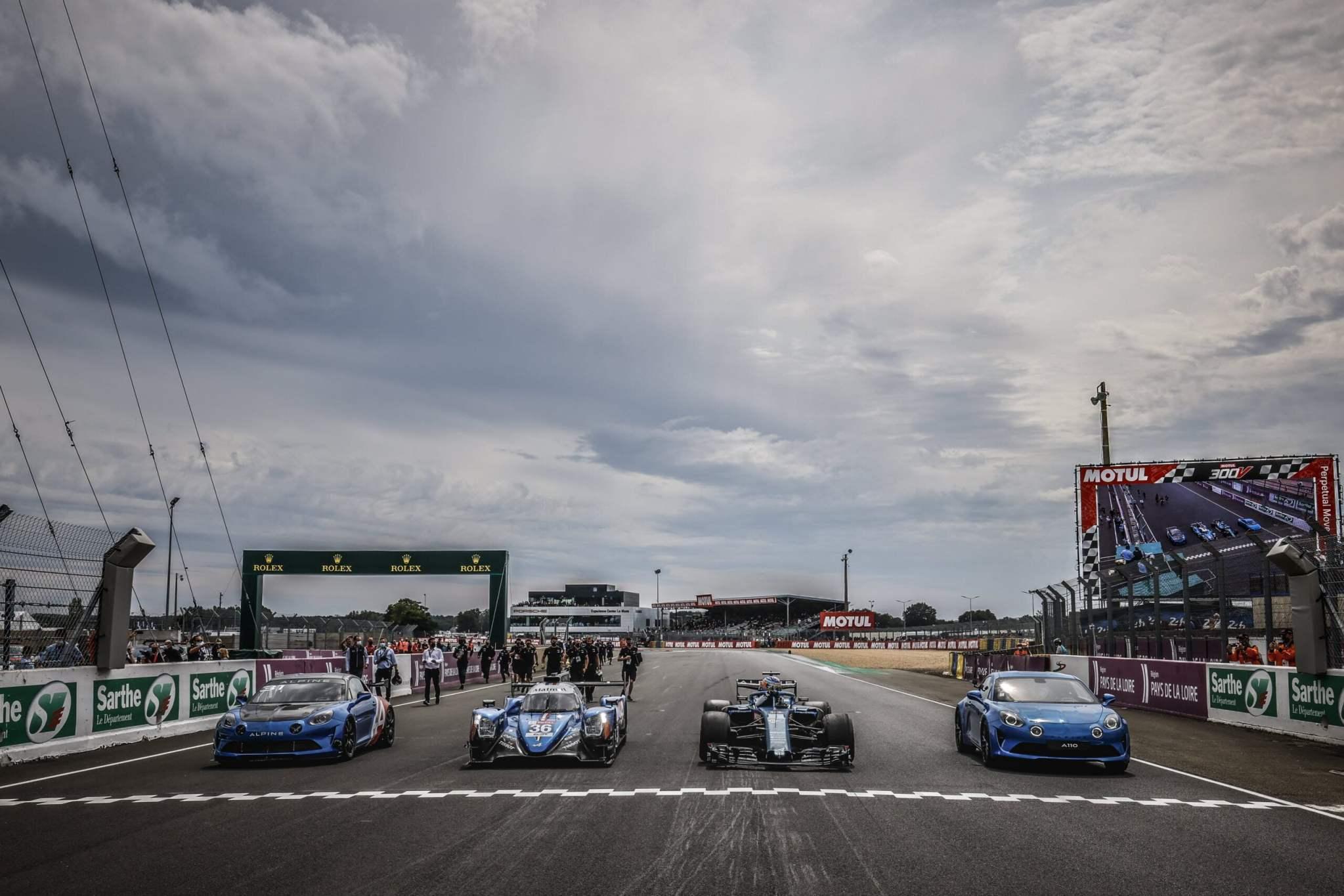 Une F1 aux 24 heures du Mans