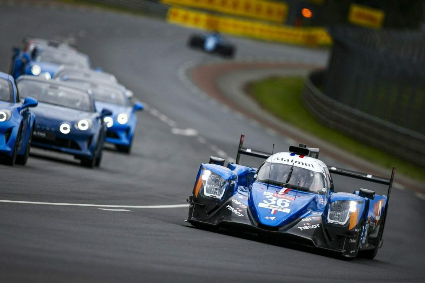 Une F1 aux 24h du Mans et une parade impregnee de passion 3 scaled | Les 24h du mans d'Alpine Endurance Team en photos