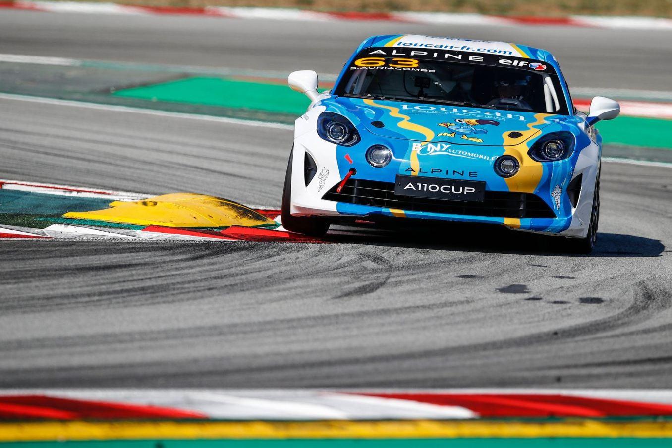Alpine Elf Europa Cup A110 Barcelona Catalunya 2021 10   Alpine Elf Europa Cup : Victoire pour Tirman et Mela sur le Circuit de Barcelona-Catalunya 2021