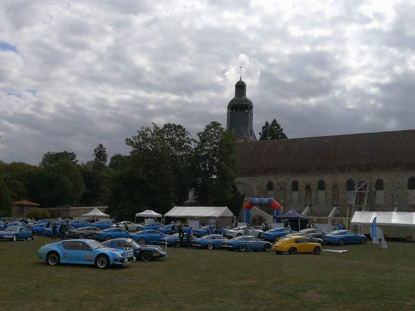 Alpine Thiron Gardais 5   4ème rassemblement Alpine à Thiron-Gardais ce weekend !