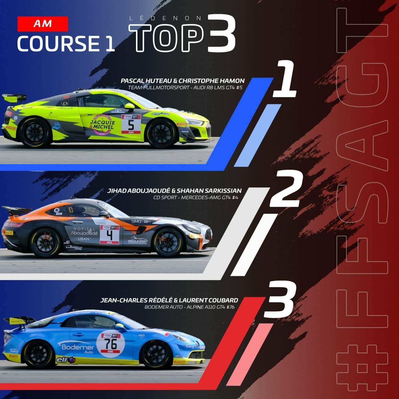 ean-Charles Rédélé et Laurent Courbard / Alpine A110 GT4