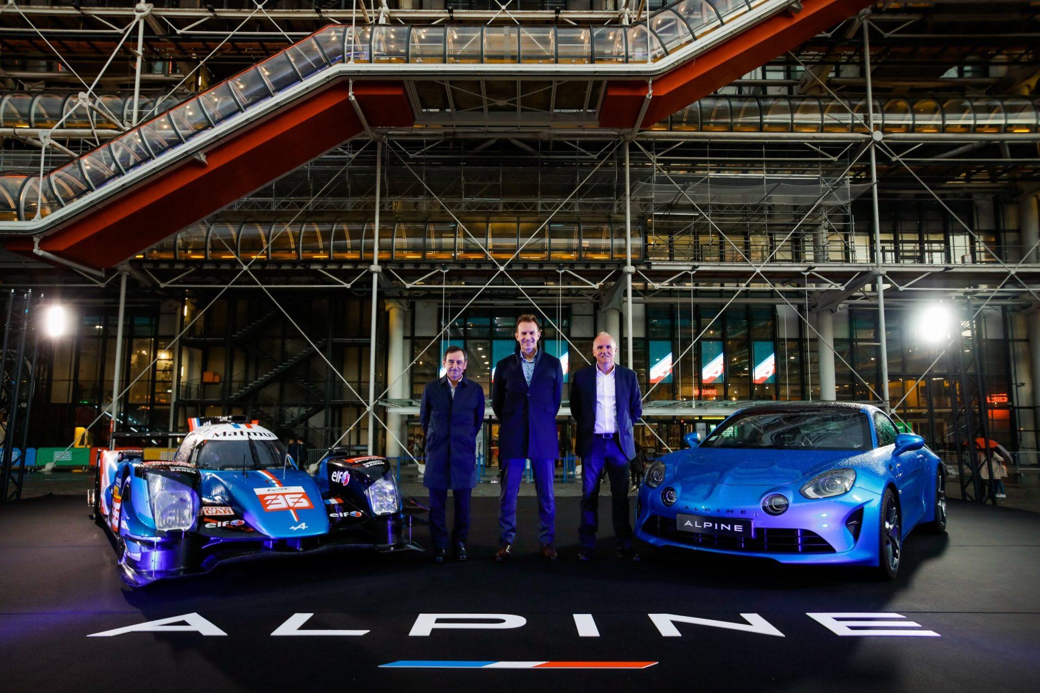 Alpine s'engagera aux 24h du Mans 2024 en LMDH avec un châssis Oreca et un moteur Alpine