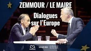 Débat Zemmour Le Maire
