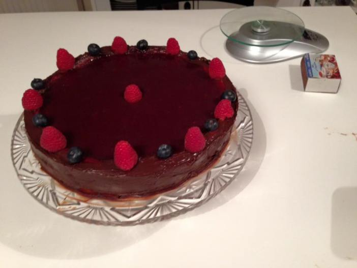 Cheesecake coco et fruits rouges