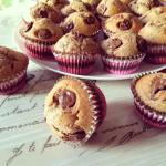 Muffin au nutella