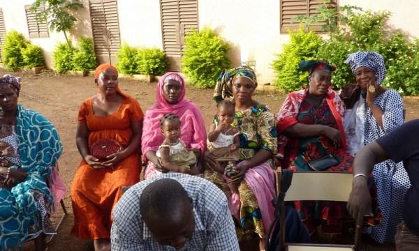 Les femmes du jardin communautaire
