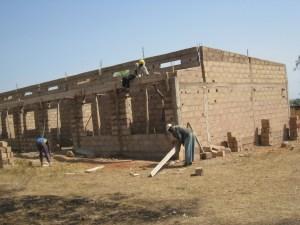 La construction des nouvelles classes