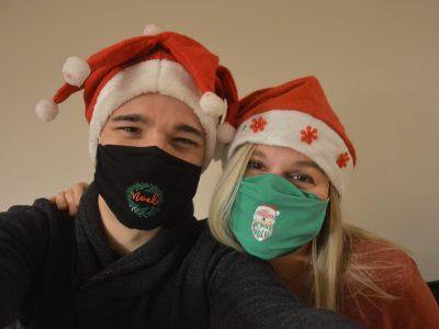 Qui aura le plus beau masque à Noël?
