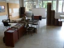 Curiosité(s) dans l'atelier des artistes (Cliché O. Fiot, 5 août 2016 / Archives de Rennes)