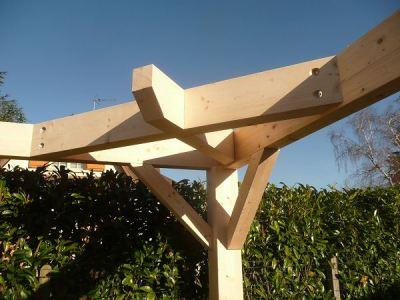 Charpentier construction traditionnelle en drome