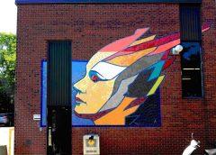 Une murale en l'honneur de DIANE DUFRESNE
