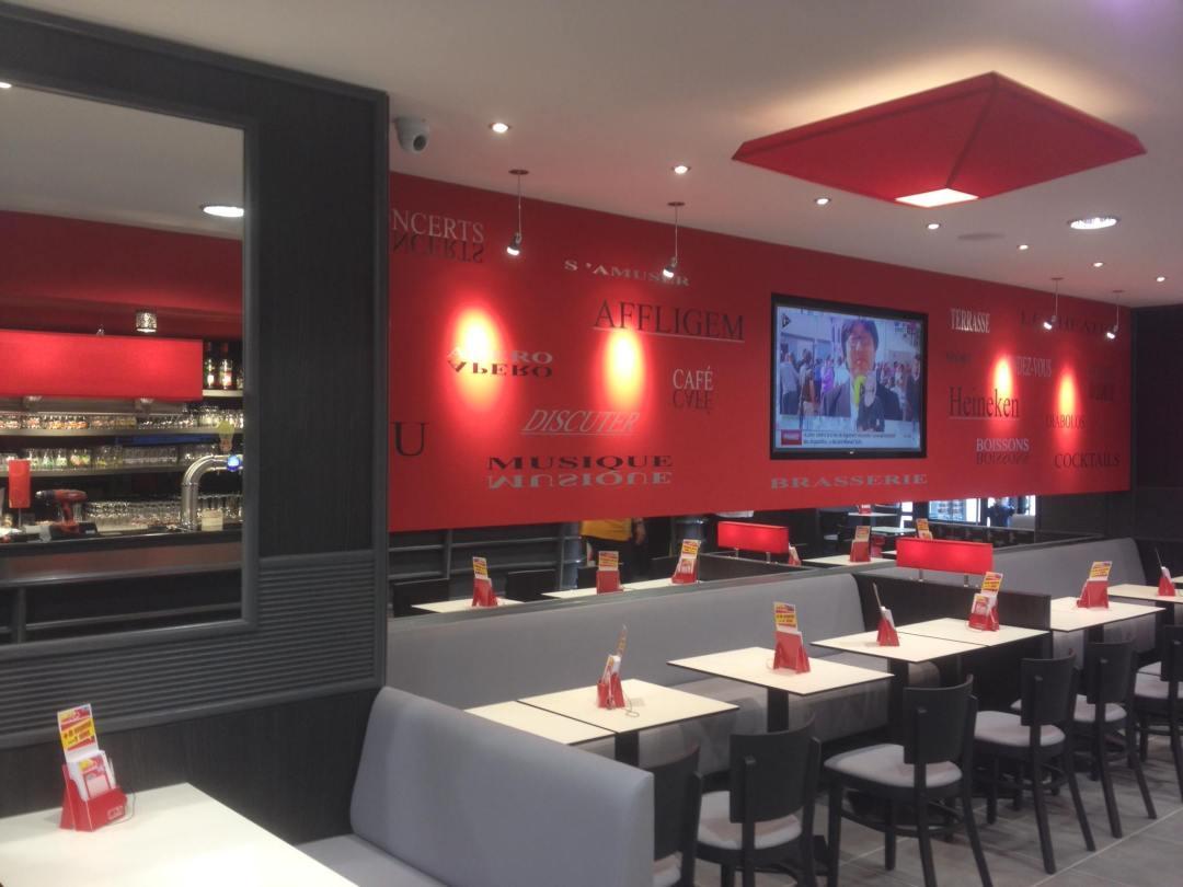 Rénovation restaurant D'Eux-Même Rouen Seine-Maritime