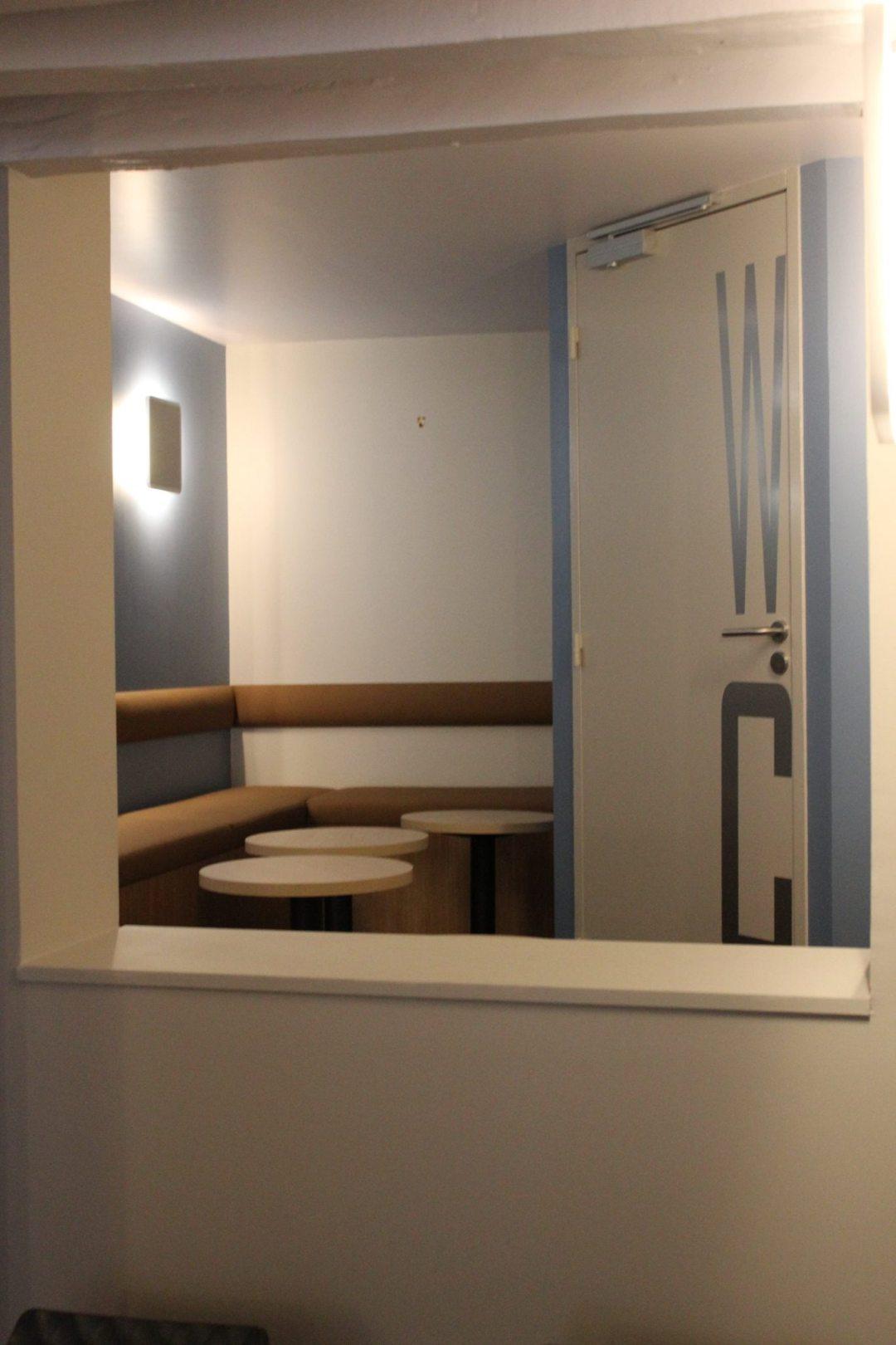 travaux de décoration intérieur café scazz rouen