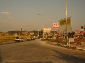 Pamukkale, sur le départ