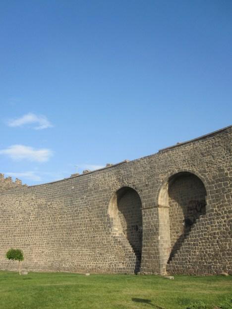 La célèbre muraille de Dagkapi