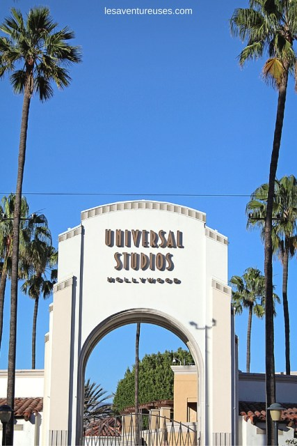 Entrée des Studios Universal Hollywood à Los Angeles