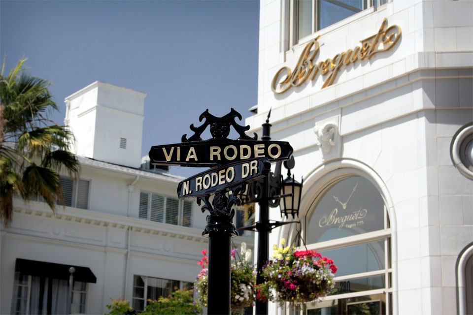 Que faire à los angeles - Rodeo Drive Beverly Hills