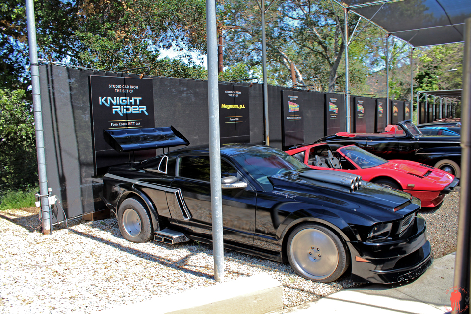 Universal Studio Los Angeles - Knight Rider Car andt Magnum car