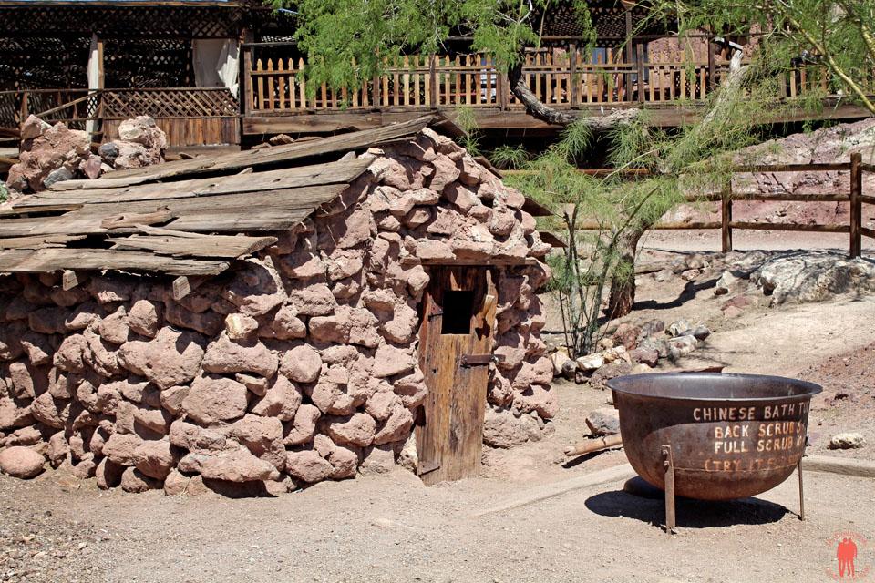 Calico Ville Fantôme - bain chinois mine argent
