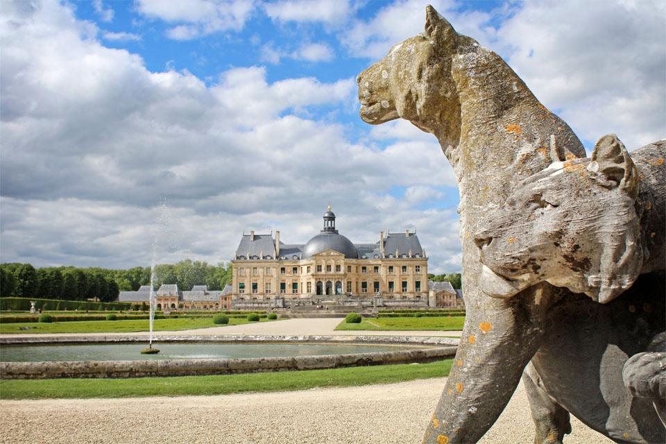 Lions Vaux le Vicomte