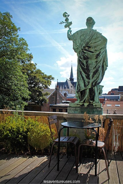 Que faire à Bruxelles - Terasse Musée Magritte