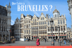 Que faire à Bruxelles Illustration