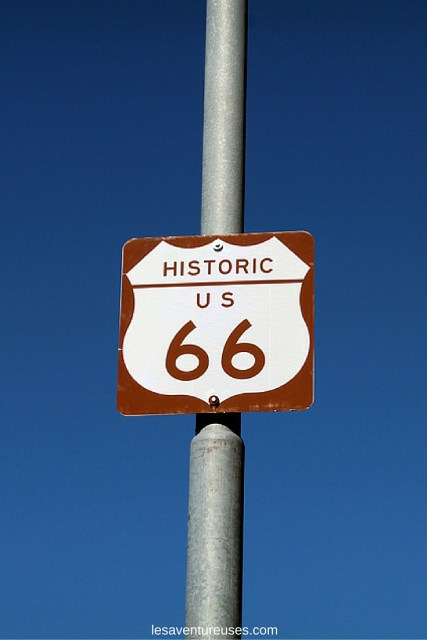 Route 66 - panneau route 66 - 1
