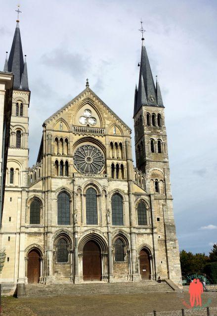 Visiter Reims - Basilique Saint Remy Face