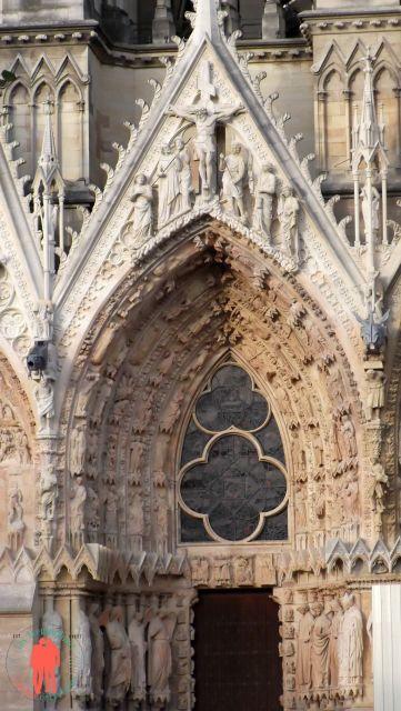 Visiter Reims - Face Cathédrale reims