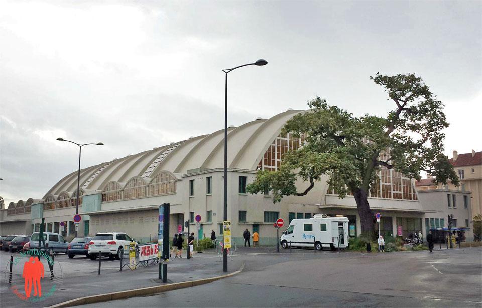 Visiter Reims - Halles du Boulingrin