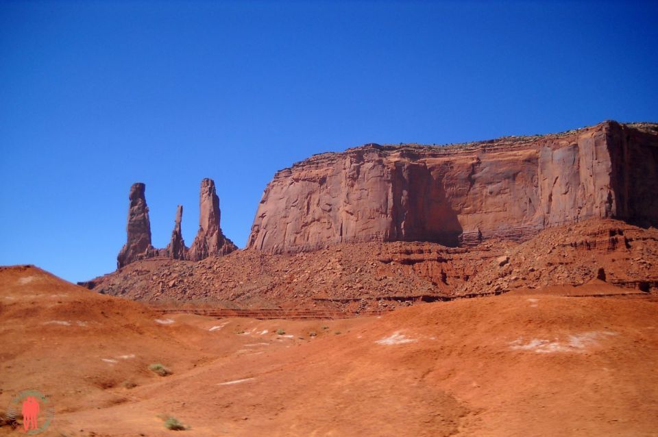 Les trois soeurs Monument Valley