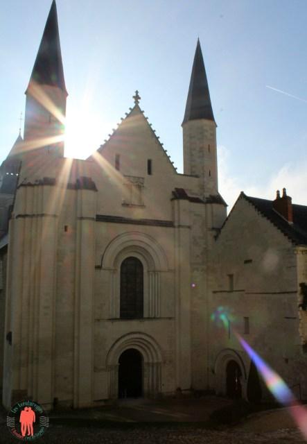 Abbaye de Fontevraud soleil