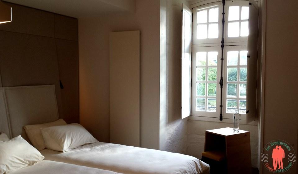 Chambre design Abbaye de Fontevraud