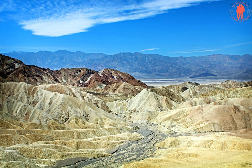 La vallée de la Mort, Zabriskie Point