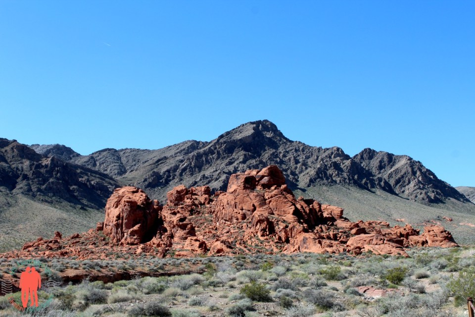 Petit dome, vallée du feu, Nevada
