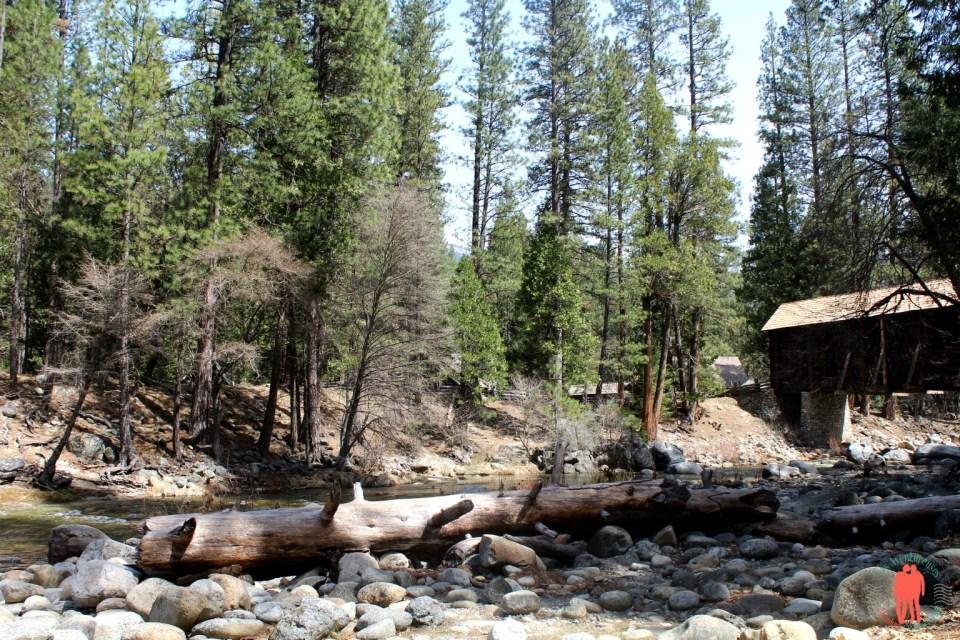 La cabane au fond du Yosemite