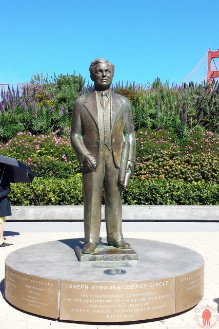 Joseph Strauss - Golden Gate Visiter San Francisco