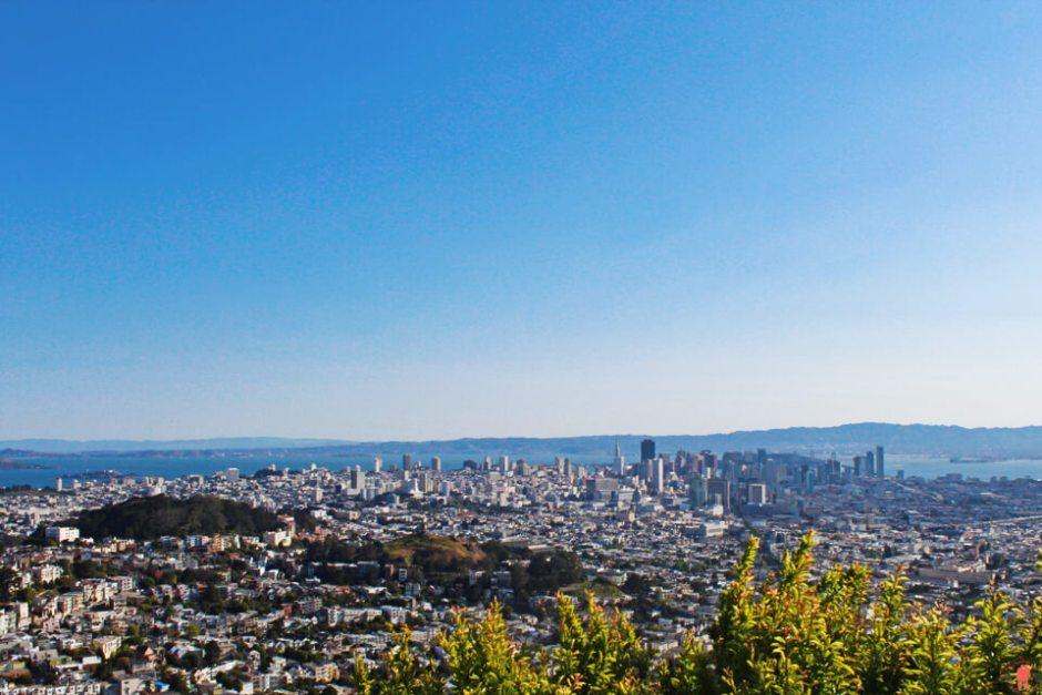 Visiter San Francisco Collines de Twin Peaks
