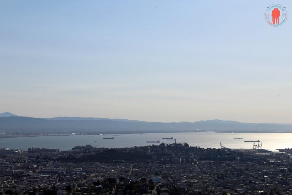 Vue de Twin Peaks, Baie de SF