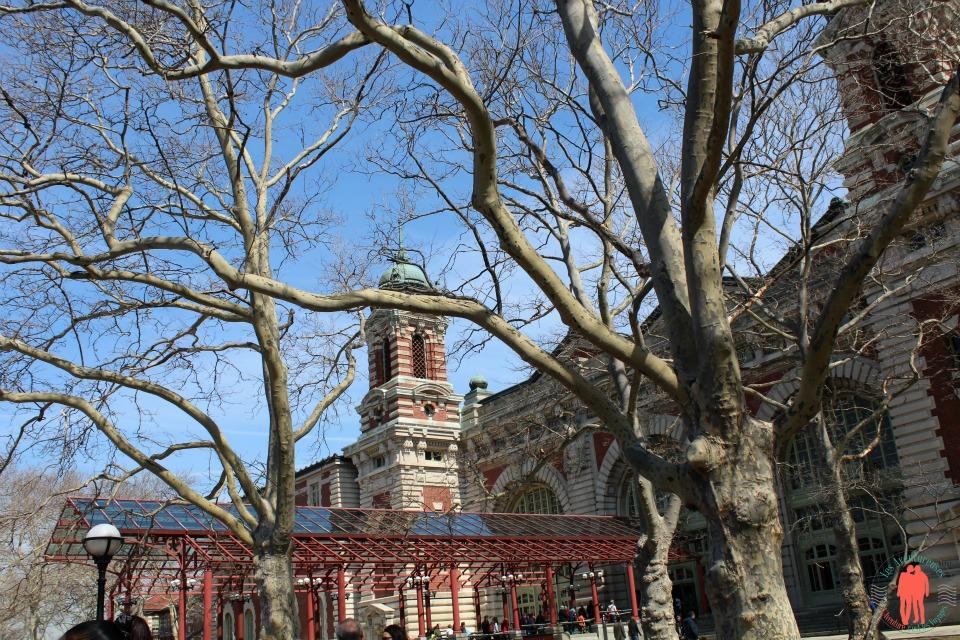 Entrée Musée de l'immigration, Ellis Island